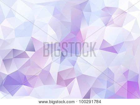 Cubism Background White And Purple