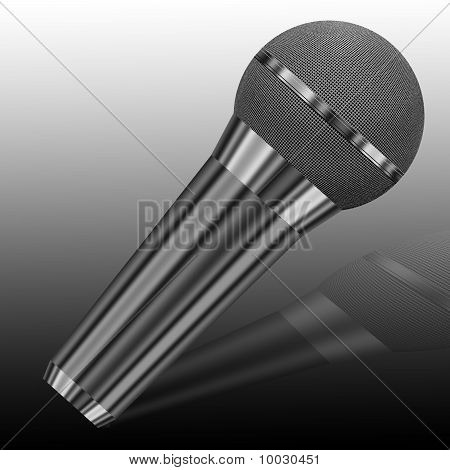 The Chrome-plated Microphone