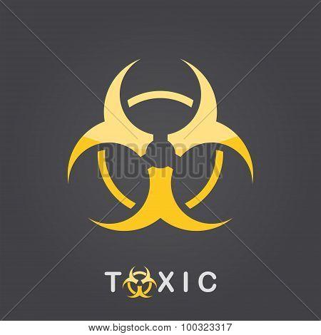 Toxic Sign, Bio Hazard Icon