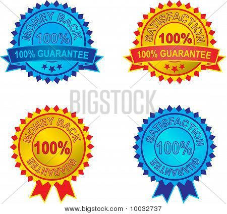 Set Of Vector Guarantee Labels