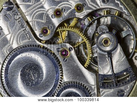 Interior of Pocket Watch