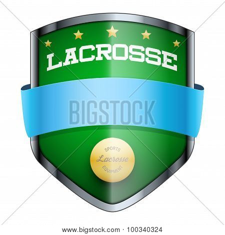 Lacrosse Shield badge.