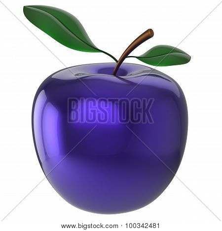 Blue Apple Experiment Poison Food Research Nutrition Fruit Icon