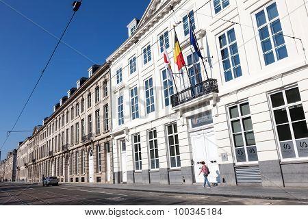 Parliament Of Wallonie-bruxelles In Brussels, Belgium