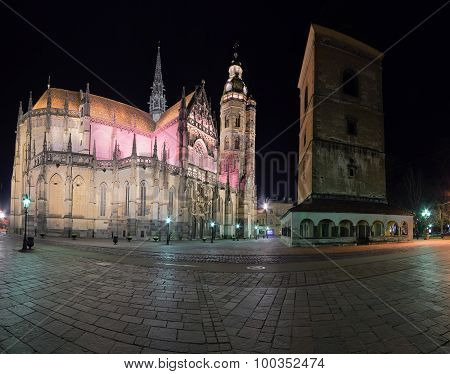 The St. Elisabeth Cathedral Panorama