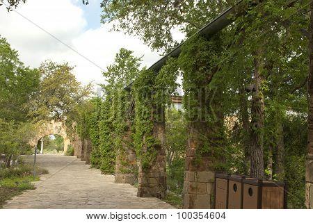 Stone Sidewalk
