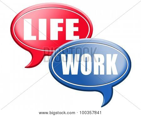 work life balance importance of career versus family leisure time and friends avoid burnout mental health stress test road sign arrow
