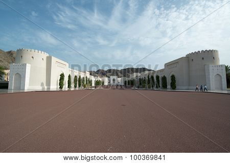 Al Alam Palace in Muscat