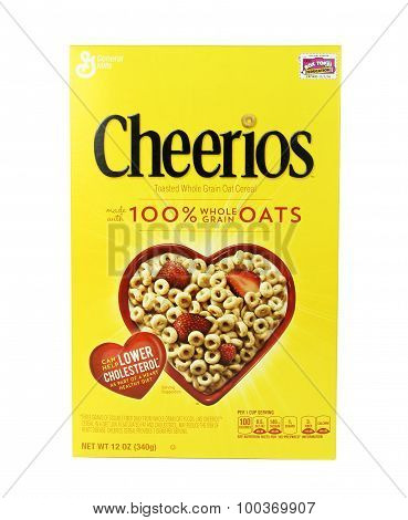 Box Of Cheerios Cereal