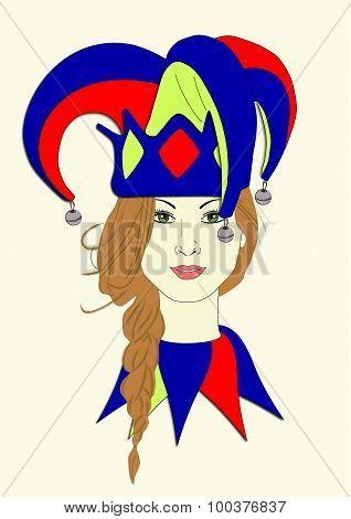 Izzy's Mardi Gras Hat