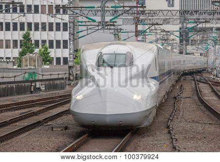 The shinkansen bullet train