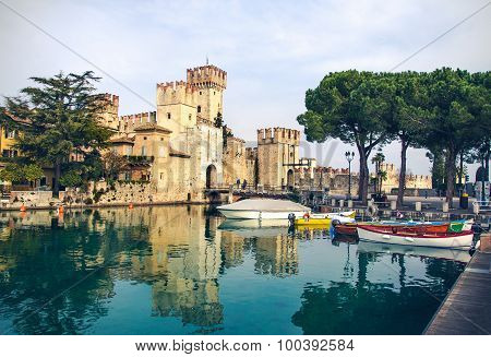 Sirmione fable castle - Lombardy Region Italy monuments