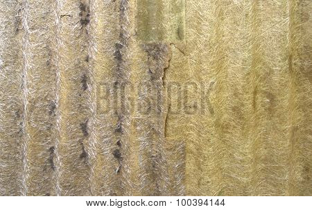 Abstract Old Polycarbonate Roof Background