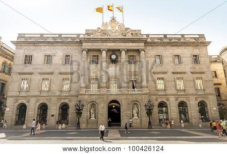 The Palau De La Generalitat