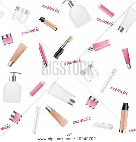 Cosmetic background. Vector