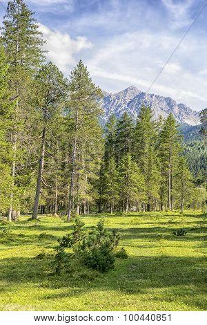 Karwendel Alps Landscape