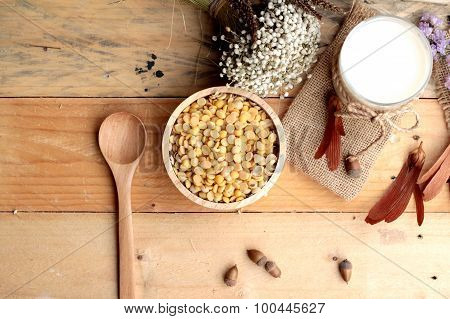 Soy Milk With Soya Beans