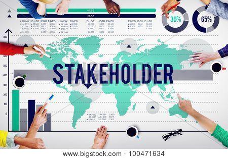 Stakeholder Contributor Shareholder Partner Deal Concept