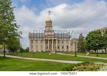 Iowa Old Capitol Building