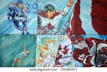 Sport story of Sherbrooke