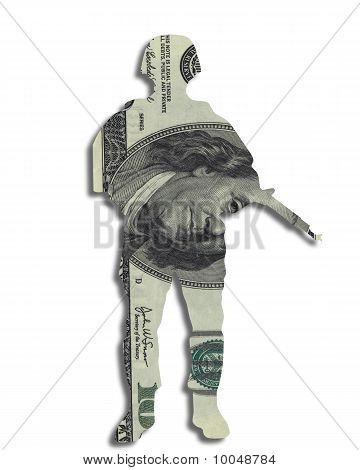 Money Soldier Currency Dollars