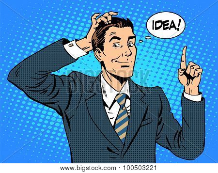 Creative business people businessman idea