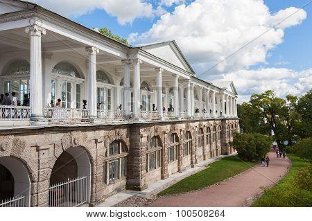 Cameron Gallery In Catherine's Park In Tsarskoe Selo, St. Petersburg