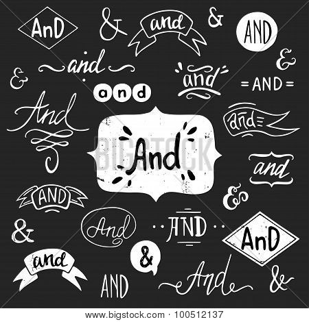'And' Words And Ampersands