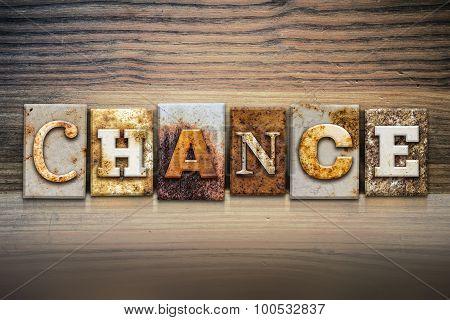 Chance Concept Letterpress Theme