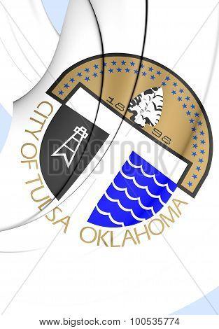 Flag Of Tulsa City (oklahoma), Usa.