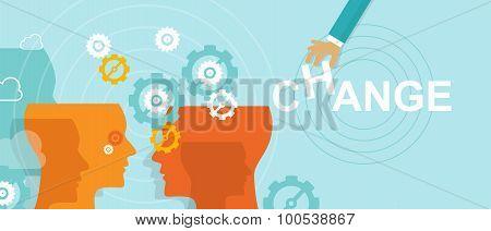 change management concept improvement direction