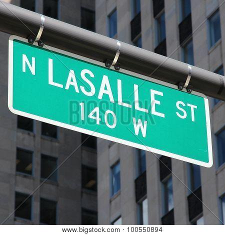 Lasalle Street, Chicago