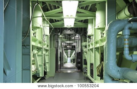 A Titan Missile Museum Long Underground Cableway