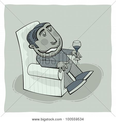 Drinking Grandpa