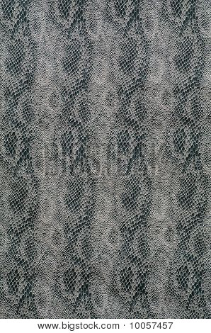 Textile With Scale-like Vertical Texture Of Snake
