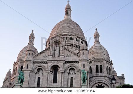 Sacre Coeur Church In Paris France