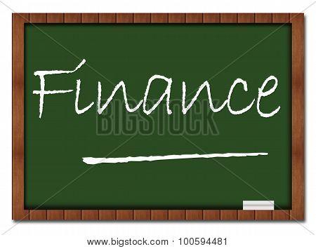 Finance Classroom Board