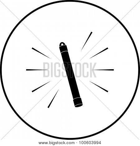 glow stick symbol