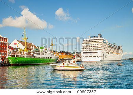 Port Of Stavanger, Norway.