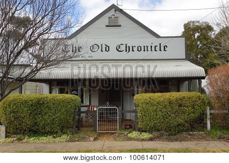 The Old Chronicle Carcoar