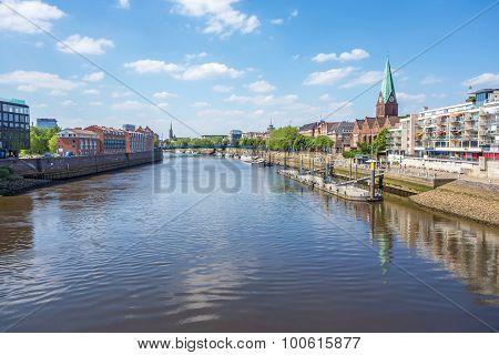 Bremen Cityscape, Weser