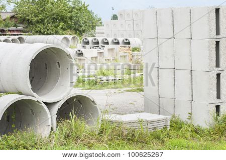 Prefabricated Concrete For Drains