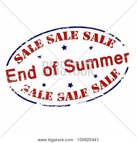 Sale End Of Summer