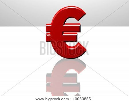 Euro Currency Sign, International Trade Concept