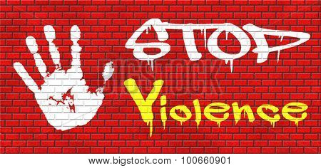 no violence or aggression stop violent or aggressive actions no war or fights prevention