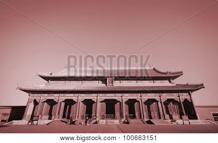 Majestic Forbidden City Beijing China Empire Palace Concept poster