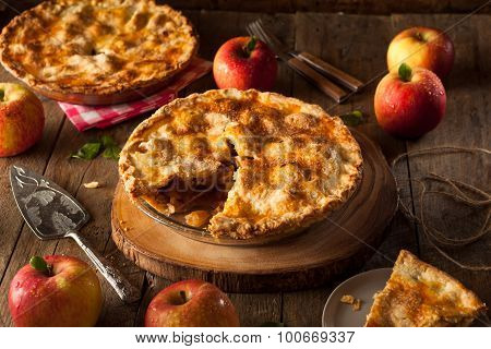 Fresh Homemade Apple Pie