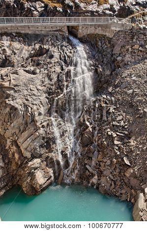 Waterfall near Kaprun - Zell am See Austria