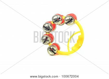 Sleigh bells rattle as a musical instrument