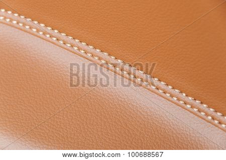 Car Leather Interior Details